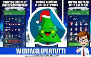App: whatsapp adesivi stickers natale app