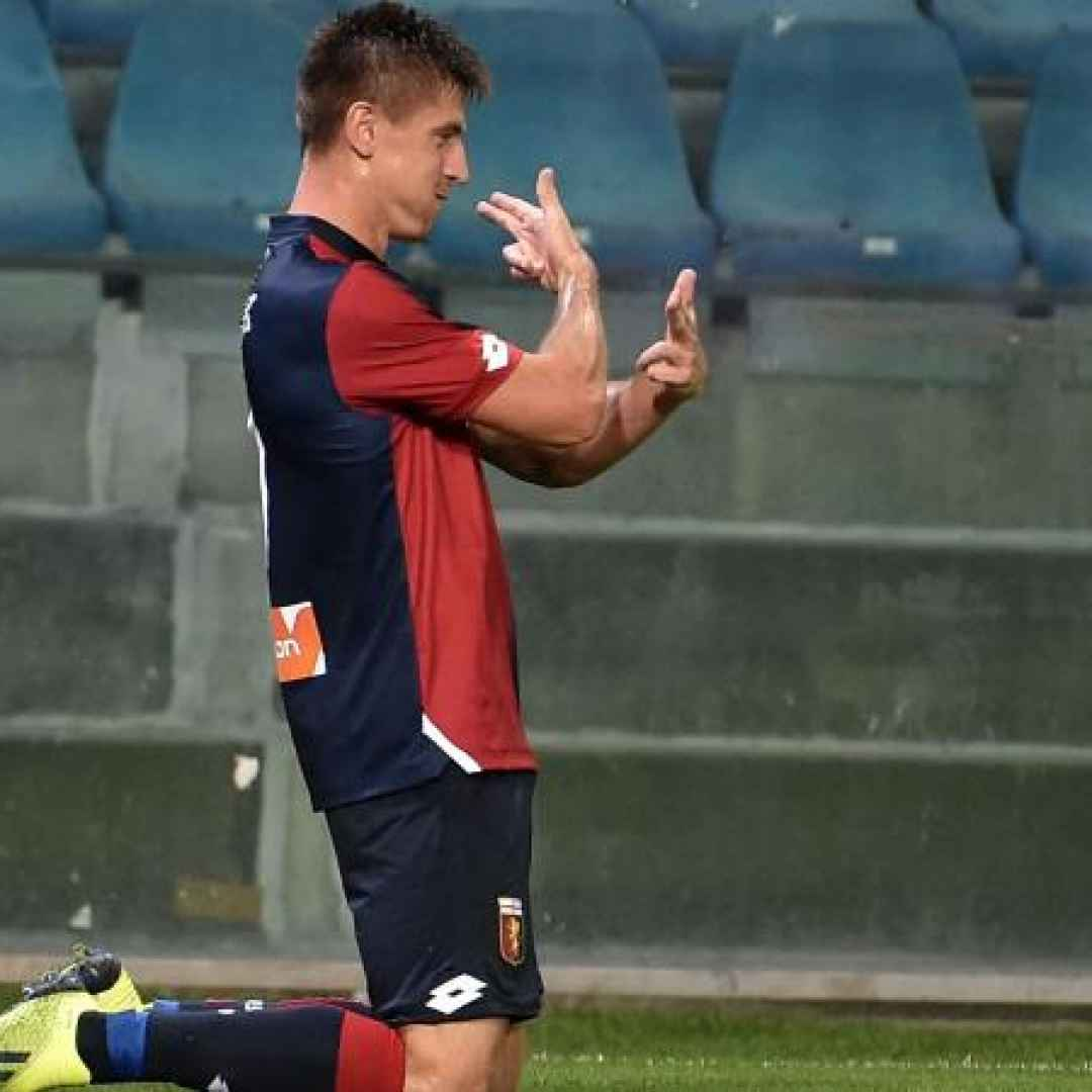 genoa piatek calcio video intervista