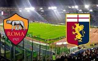 Serie A: roma genoa video gol calcio