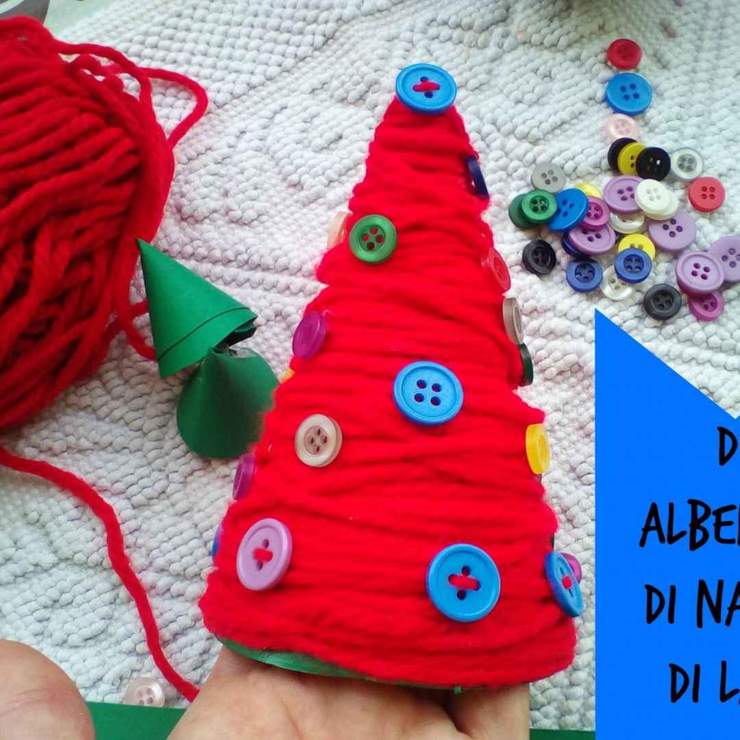 Regali Di Natale Riciclo Creativo.Riciclo Creativo Realizzare Un Albero Di Natale Di Lana Natale