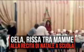 Cronaca Nera: video rissa gela mamme natale
