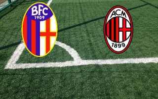 Serie A: bologna milan video highlights calcio