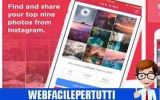 App: top nine   instagram app