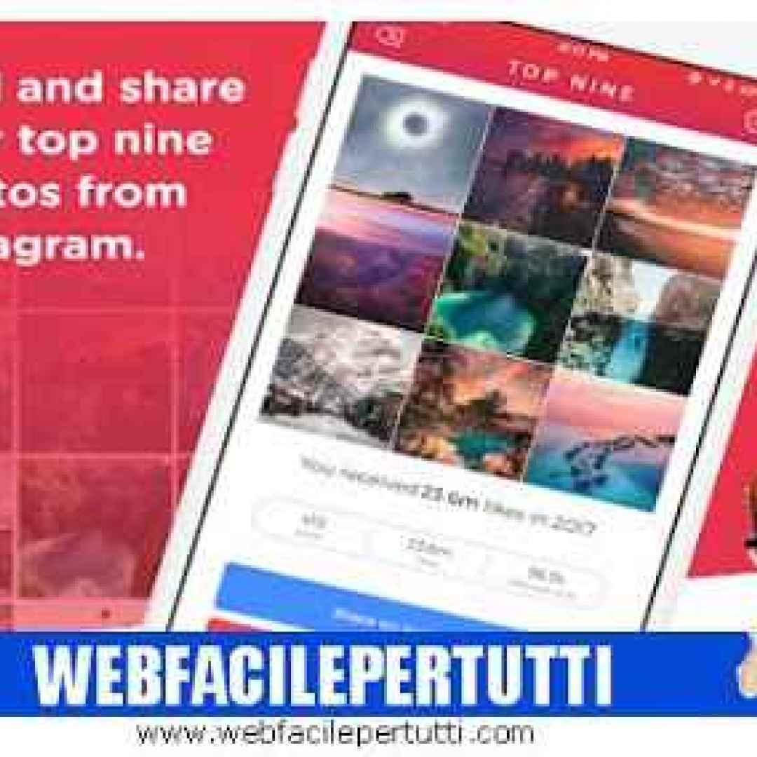 top nine   instagram app