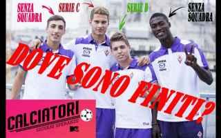Televisione: calcio calciatori giovani mtv tv