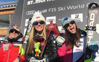Sport Invernali: SCI ALPINO: GIGANTE DONNE COURCHEVEL: SHIFFRIN BATTE LA REBENSBURG