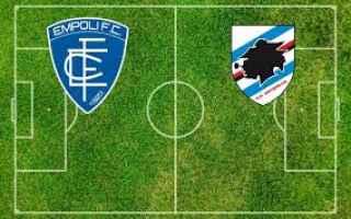 Serie A: empoli sampdoria video gol calcio