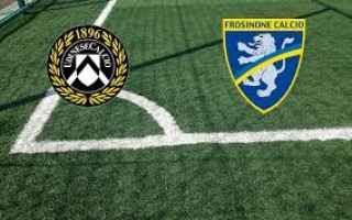 Serie A: udinese frosinone video gol calcio