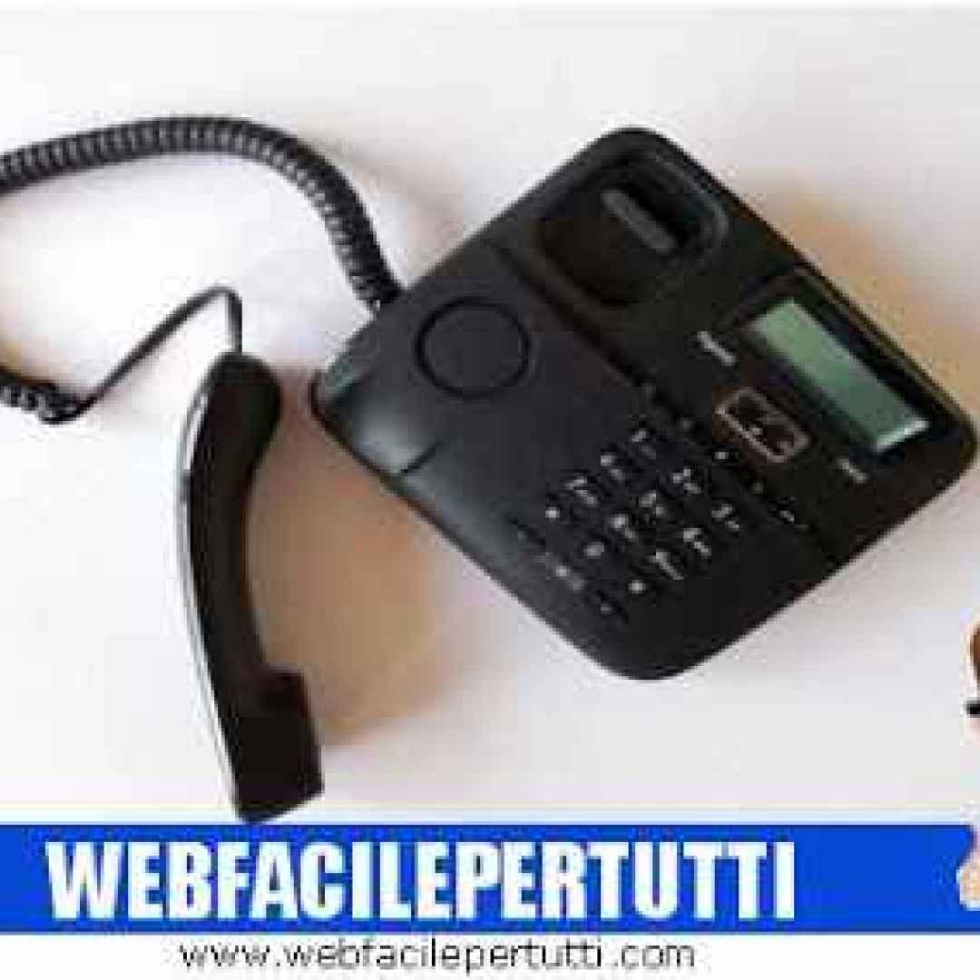 telefonia operatore telefonico numero