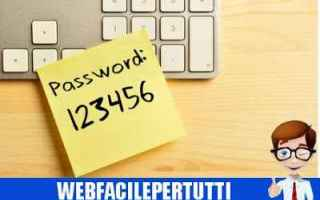 Sicurezza: password elenco peggiori password
