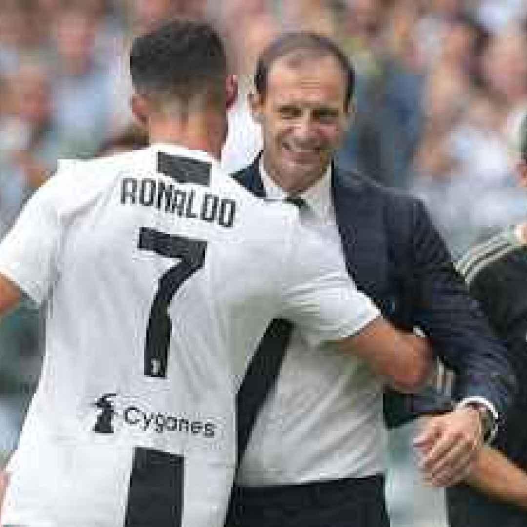 ronaldo allegri juventus calcio video