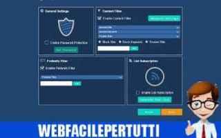 Browser: webfilter free  parental control  chrome