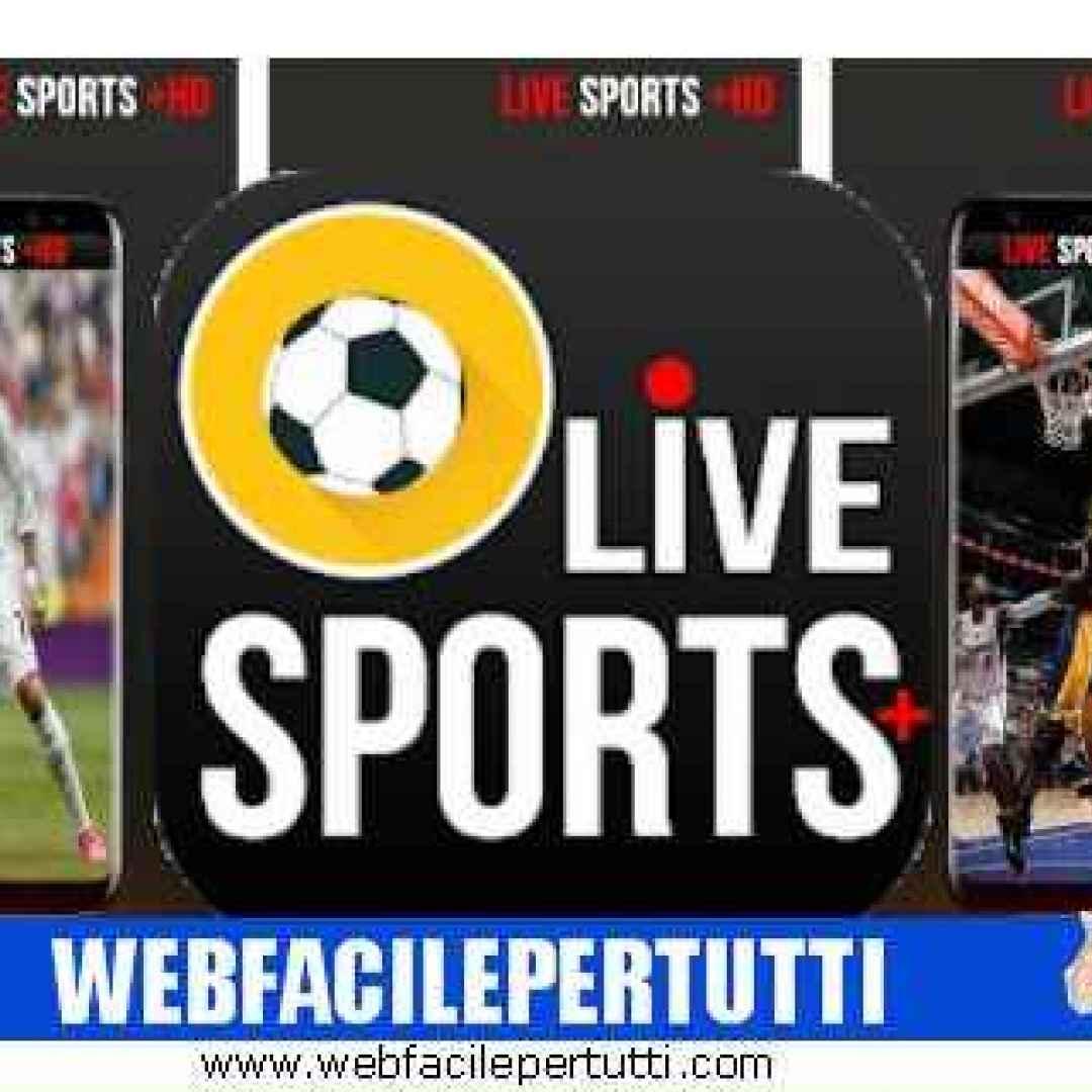 live sports plus hd  app  streaming  sport