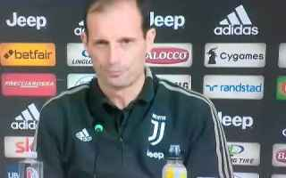 Serie A: juventus sampdoria video calcio allegri