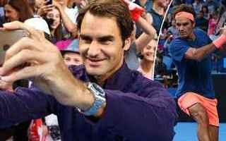 Tennis: tennis grand slam perth roger federer