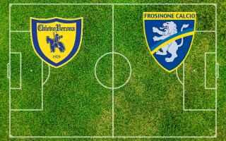 Serie A: chievo frosinone video gol calcio