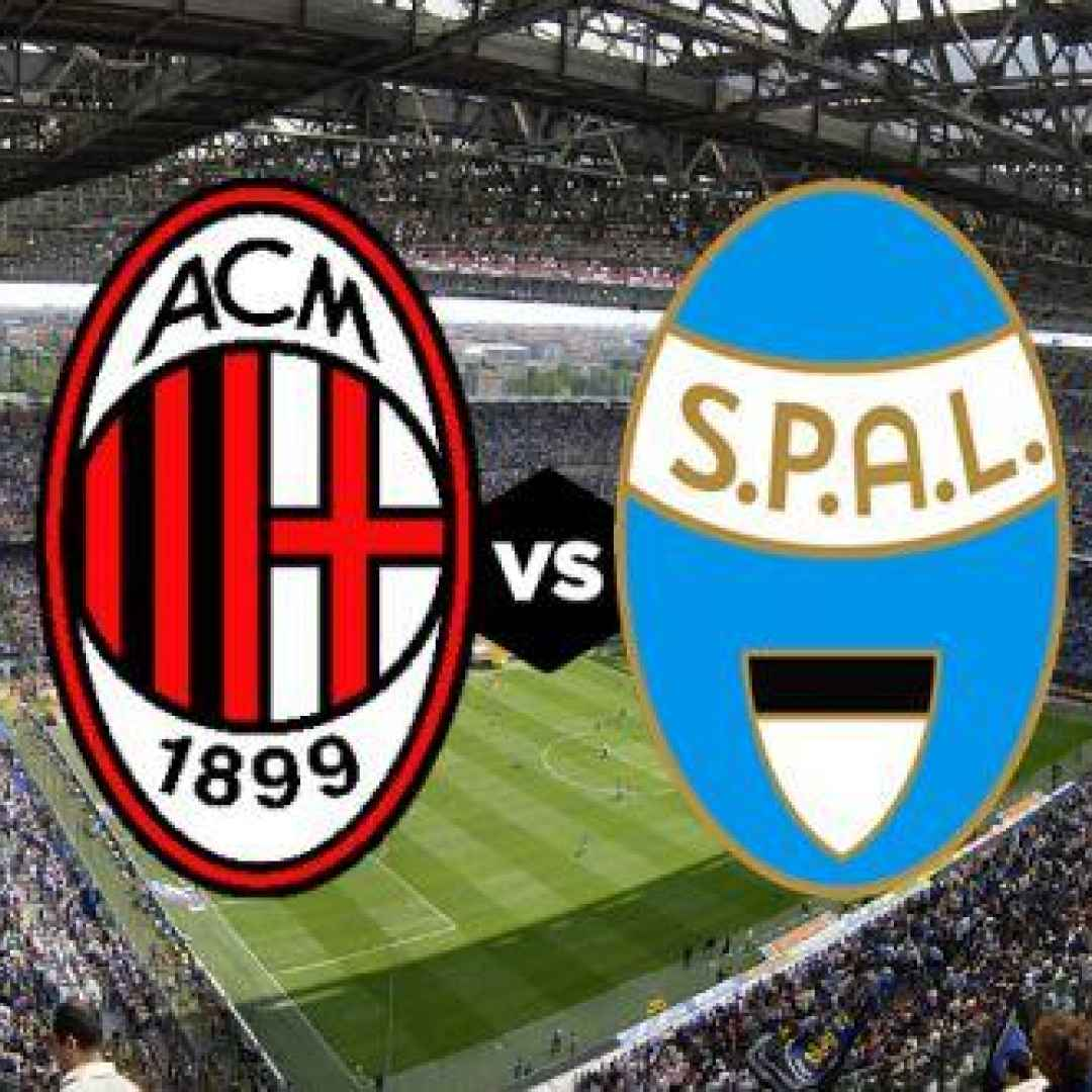 milan spal video gol calcio