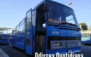 Roma: cotral  autobus  video
