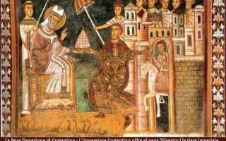 Religione: concilio di nicea  papa  silvestro