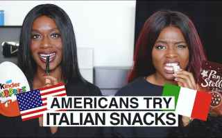 Video online: ragazze video usa italia cibo