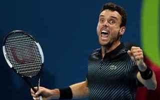 Tennis: tennis grand slam bautista doha