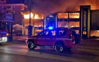Notizie locali: incendio brianza monza lombardia video