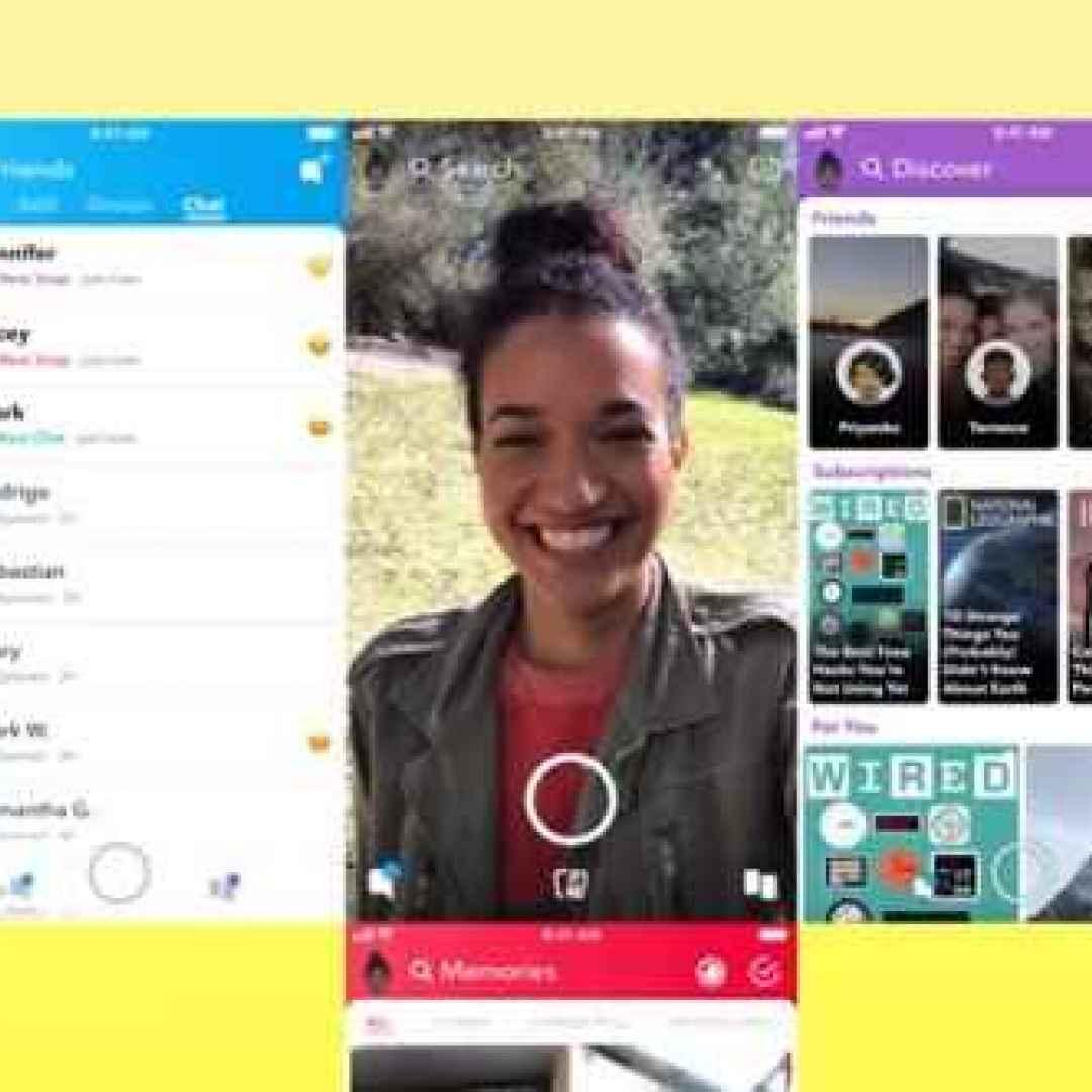 snapchat chat social app