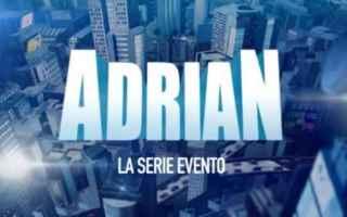 """Televisione: Celentano si trasforma in """"Adrian"""" la serie-evento di Canale 5"""