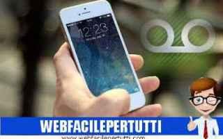Telefonia: disattivare segreteria telefonica mobile