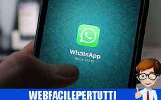 WhatsApp: bufala truffa whatsapp pagamento