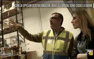 amazon lavoro lavorare video spycam