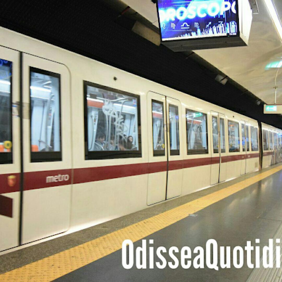 roma  trasporto pubblico  metropolitane