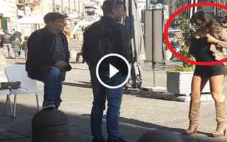 Napoli: napoli video scherzo candid camera