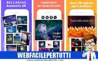App: buonanotte gif app