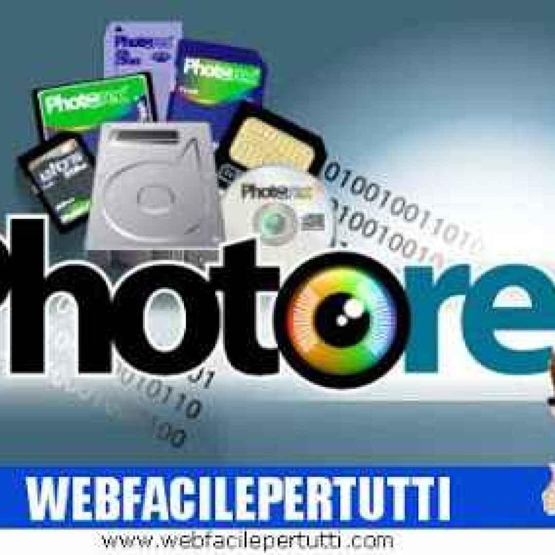 photorec programma gratis