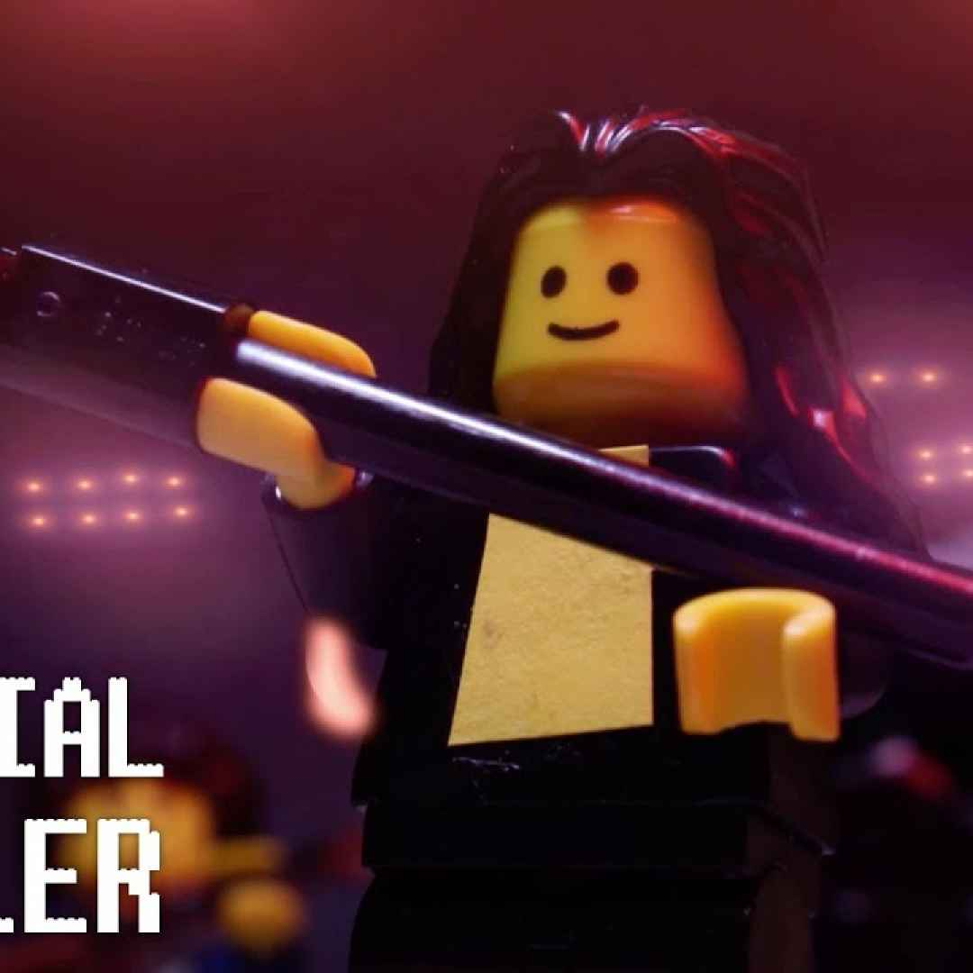 lego queen video trailer musica