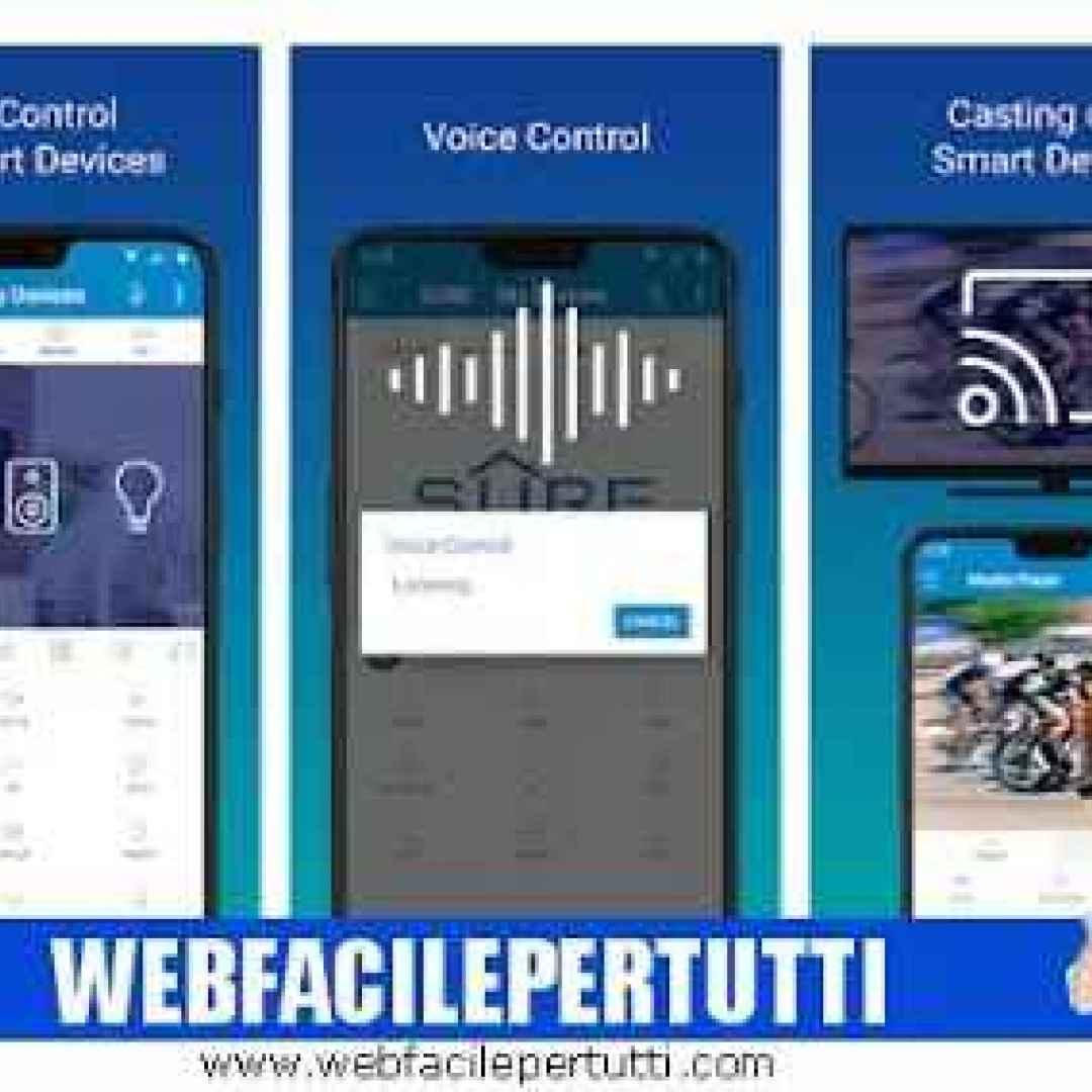 telecomando universale sure app wifi