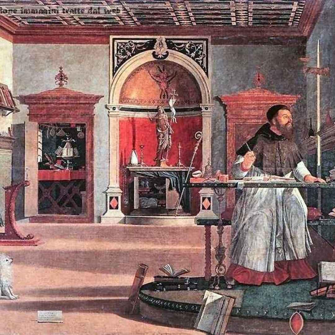agostino  confessione  dio uno e trino
