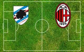 Coppa Italia: sampdoria milan video gol calcio
