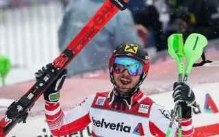 Marcel Hirscher show, anche nello slalom speciale, dove ha confermato il feeling particolare, con la