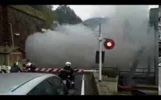 Filmati virali: treno  vapore  galleria  video  spettacolo