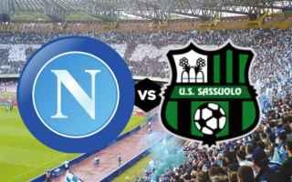 Coppa Italia: napoli sassuolo video gol calcio