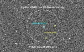 Astronomia: supernova  nana bianca  gigante rossa