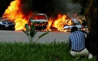 nairobi  kenya  video  hotel  attentato