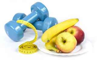 Fitness: dieta  sport  cibo