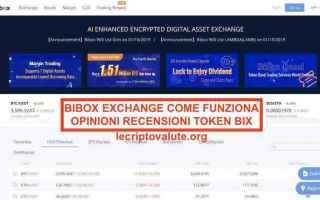 bibox exchange  bix token