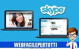 Internet: skype attivare sottotitoli