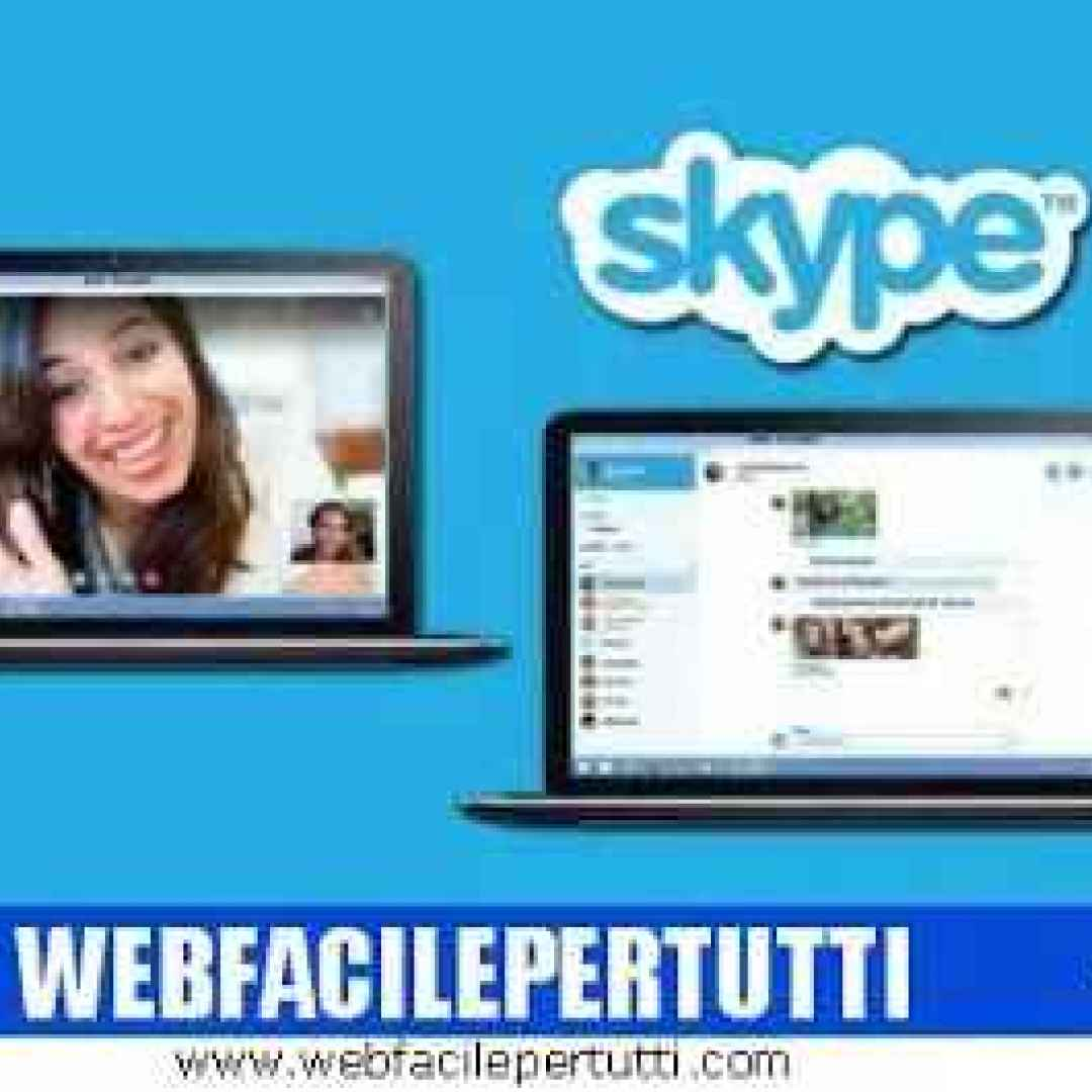 skype attivare sottotitoli