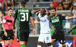 Serie A: inter sassuolo streaming