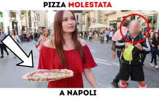 Napoli: pizza napoli video ragazza est
